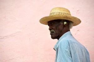 Trinidad, Cuba - A Man with a Coin in His Ear