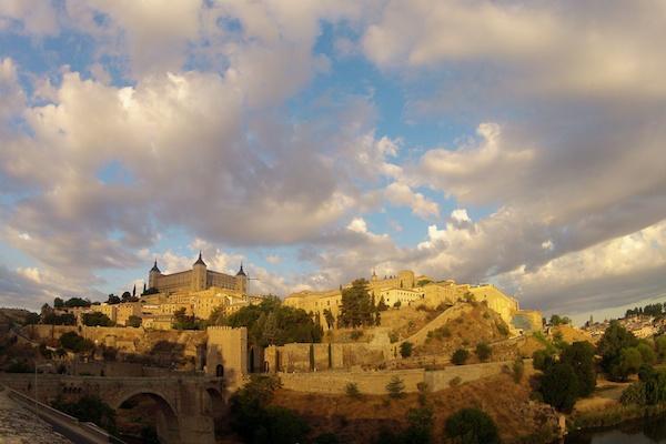 Toledo, Spain during the golden hour - Copyright 2012 Ralph Velasco