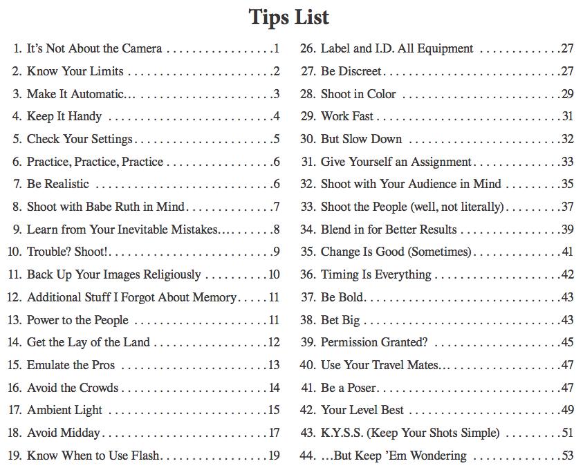 Tip List