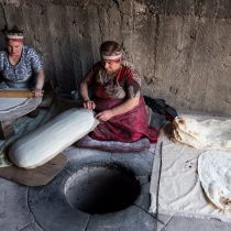ladies-making-lavash-in-tonir-garni-armenia-copyright-2018-ralph-velasco-min