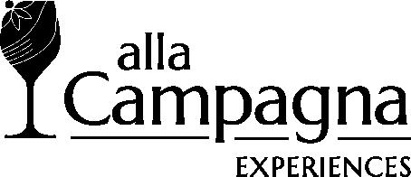 Alla Campagna Experiences logo by Ralph Velasco